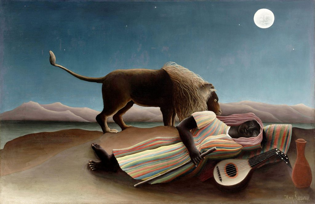 The Sleeping Gypsy - Rousseau Henri