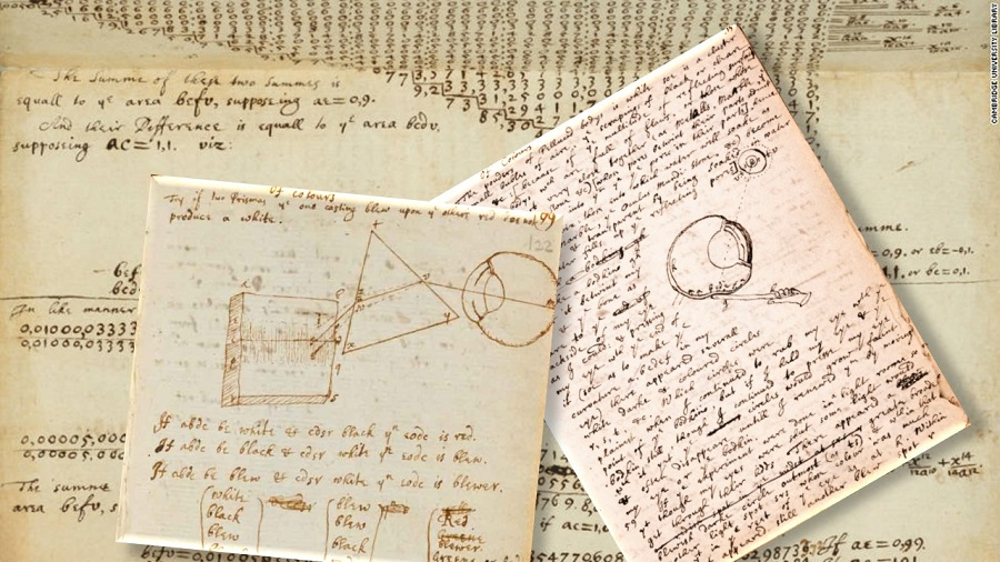 """Plato is my friend, Aristotle is my friend, but my greatest friend is truth."" - Isaac Newton (1642-1727). Cambridge University Library holds the largest and most important collection of the scientific works of Newton."