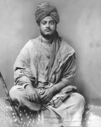 Swami Vivekananda in Belgaum, India, 1892