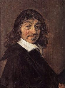 Portrait of René Descartes (1596-1650) by Fran's Hals 1649. Statens Museum for Kunst, Coppenhagen