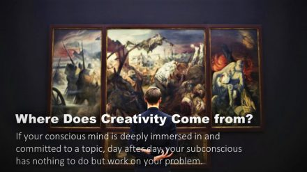 Where Does Creativity Come From?